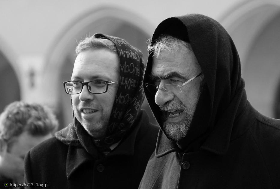 Kraków street photo...dwaj panowie