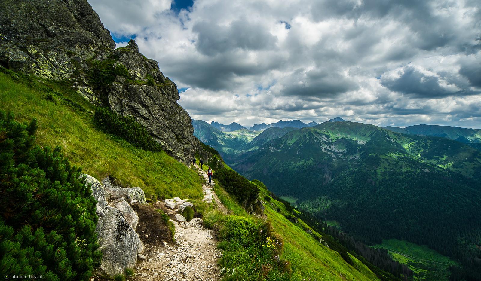 Tatry - trasa w kierunku Kasprowego Wierchu