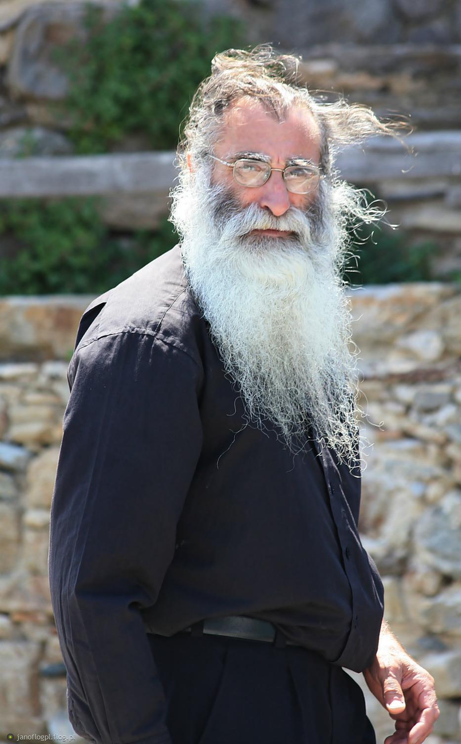 Spojrzenie przyszłego mnicha