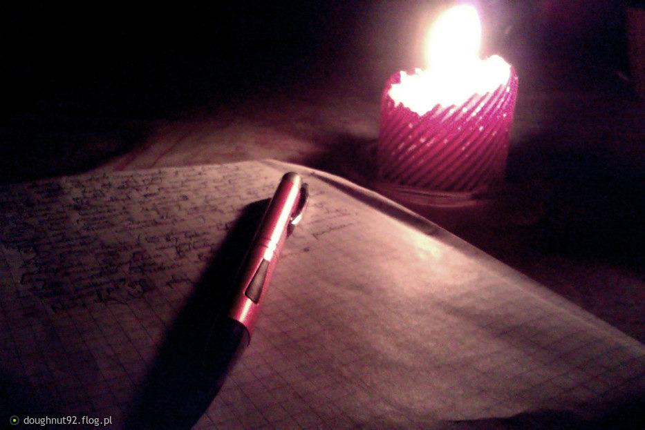 Uwielbiam światło świec