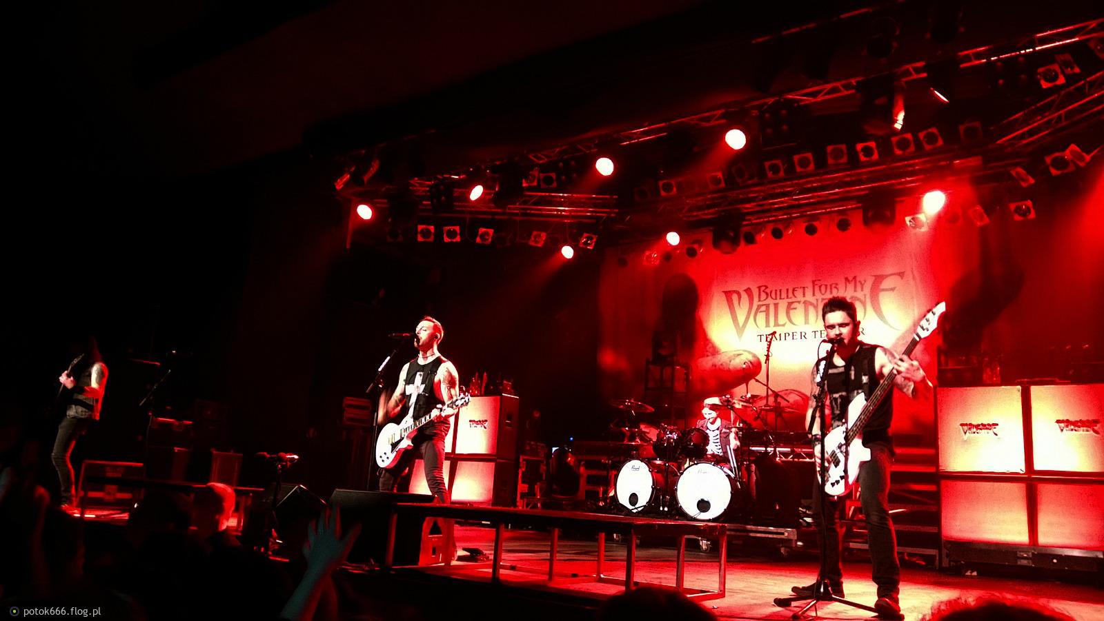 Bullet For My Valentine + Video Warszawa 2014 Stodoła