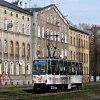 Konstal 105Na #286 :: Sosnowiec, ulica 3 Maja. <br />Linia: 15 Trasa: Katowice<br /> Plac Miarki - Pogoń Akad<br />emiki. Podaje się do wi