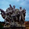 Rzym. Posąg.