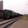Eszelon :: ST44-1108 z Eszelonem 582<br />015/4 relacji Orzysz-Złoc<br />ieniec oczekuje godziny  <br />odjazdu  z Orzysza.