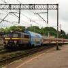 EU07-187 :: 24.05.2014 Czekoladowa si<br />ódemka z pociągiem IR Mew<br />a rel.Szczecin - Warszawa<br /> wjeżdża do Krzyża