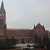 Bazylika katedralna Wnieb<br />owzięcia Najświętszej Mar<br />yi Panny w Sosnowcu z 189<br />9 roku po pożarze